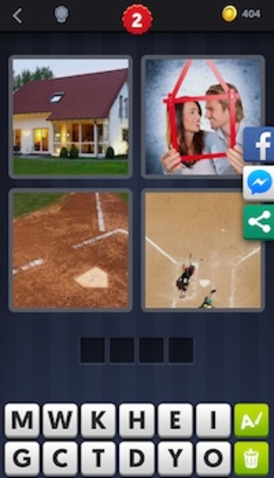 4 pics, 1 word, android, iOS