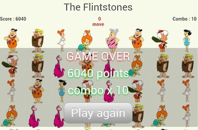 the flintstones, puzzle, game, tablet, android
