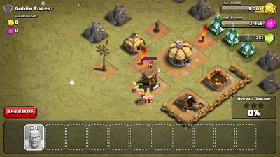 Clash of Clans, rts, battle