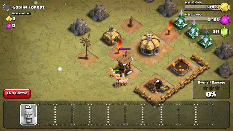 Clash of Clans, rts, battle  - Clash of Clans