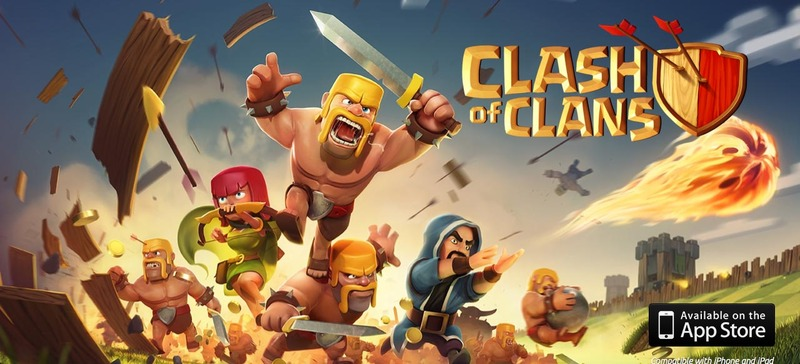 Clash of Clans, rts, poster  - Clash of Clans