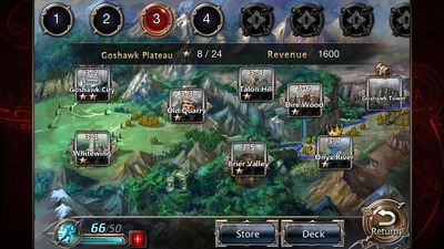 Elemental Kingdoms, Perfect World, map