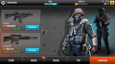 Frontline Commando 2, load, screen
