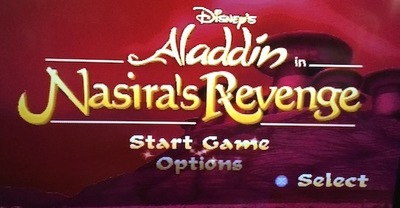 aladdin, nasira's revenge, ps1, playstation, disney