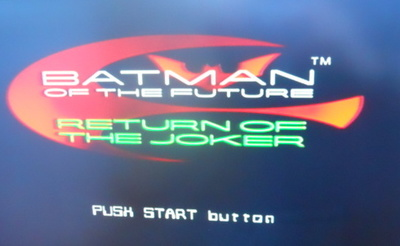batman of the future, ps1, playstation