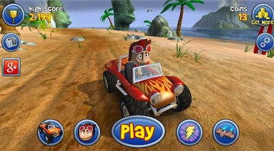 beach buggy blitz, andriod, google play, game
