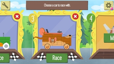 boomerang make & race, app, racing, iOS, android, game, looney tunes, hanna barbera