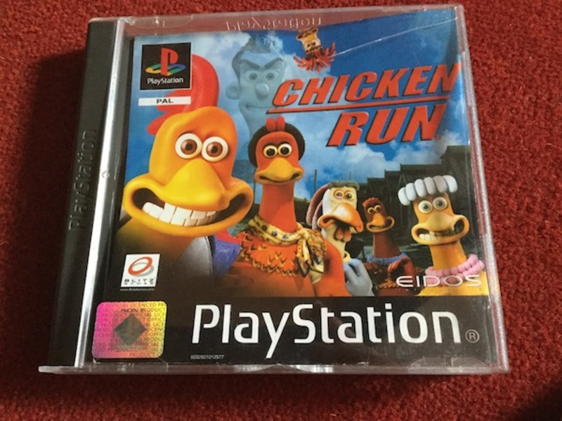 chicken run, video game, ps1, playstation