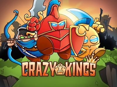 Crazy Kings, a tower defense game for iOS
