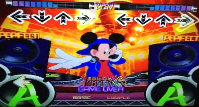 dance stage revolution disney mix, ps1, playstation