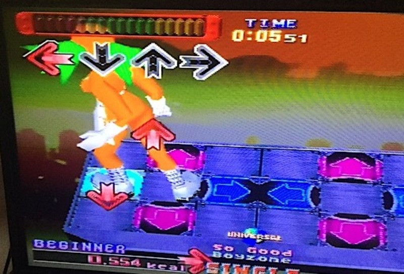 Dancing stage, euromix, ps1, playstation 1, playstation, game, dance mat  - Dancing Stage: EuroMix