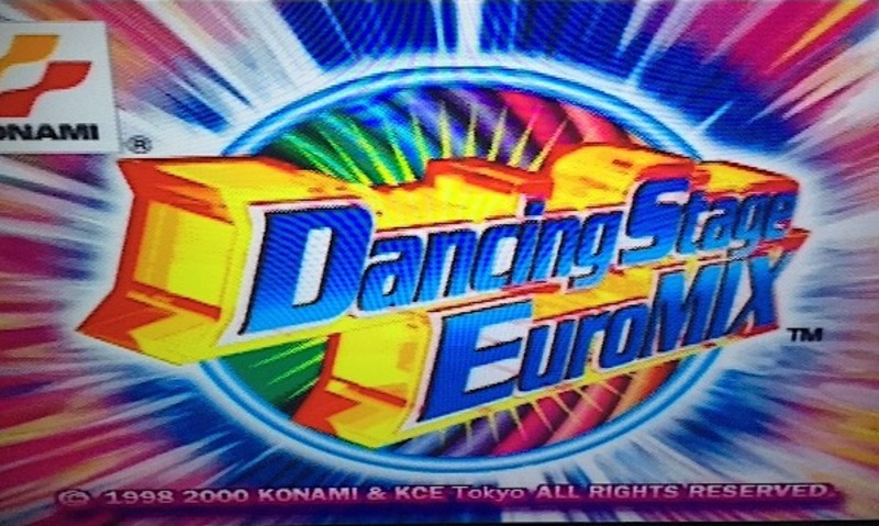 Dancing stage, euromix, ps1, playstation 1, playstation, game, dance mat