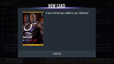Injustice Gods Among Us Mobile Darkseid Challenge