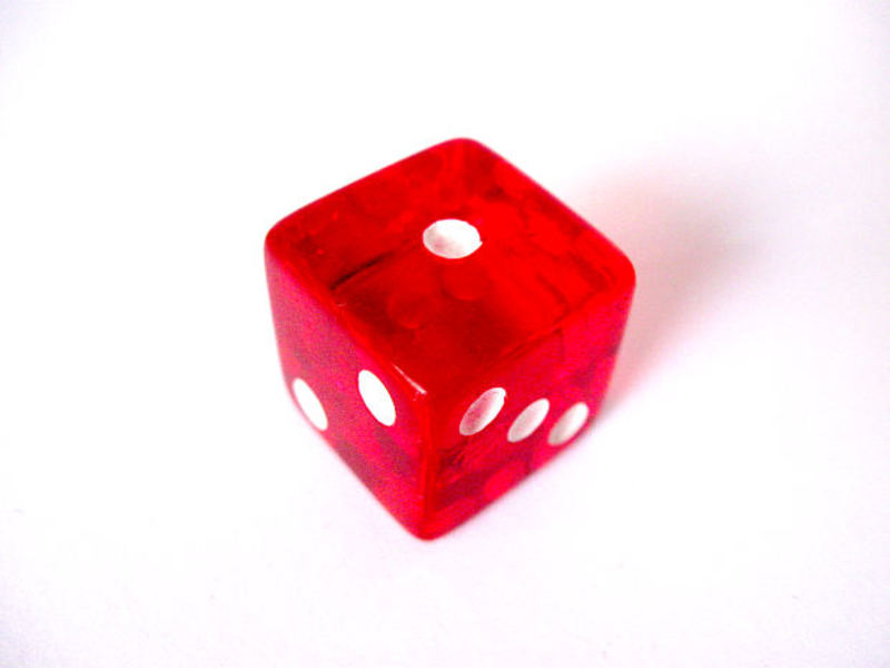 die, one  - If you could only play one game for the rest of your life, what would it be?
