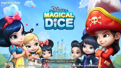 disney magical dice, monopoly, iOS, Android, board game, game