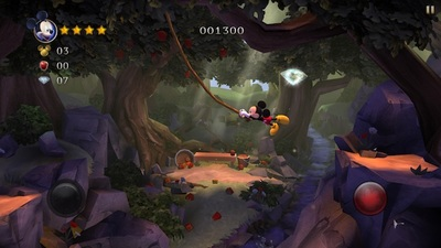 disney, Mickey Mouse, castle of illusion, app, video game