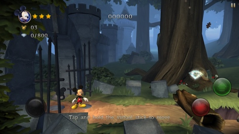 disney, Mickey Mouse, castle of illusion, app, video game  - Castle of Illusion