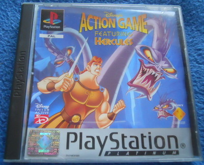 disney's action game hercules, ps1 playstation