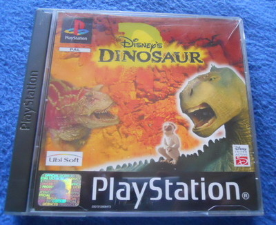 disney's dinosaur, ps1, playstation