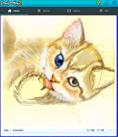 draw something 2, cat