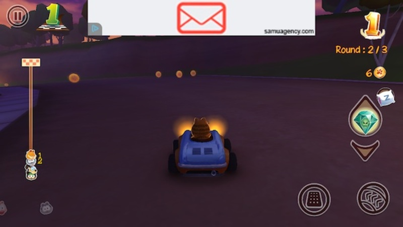 garfield kart, fast and furious, iOS, android, game  - Garfield Kart: Fast & Furry
