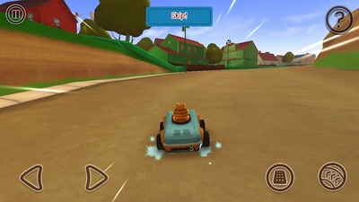 garfield kart, fast and furious, iOS, android, game