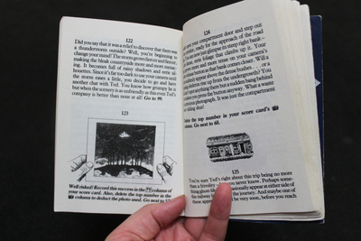 ghost ride, adventure game books, stephen thraves, gaming, adventure games