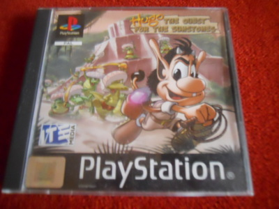 hugo, quest for the sun stones, ps1, playstation