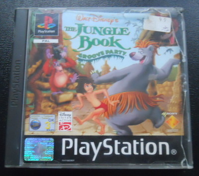 jungle book, groove party, ps1, playstation 1
