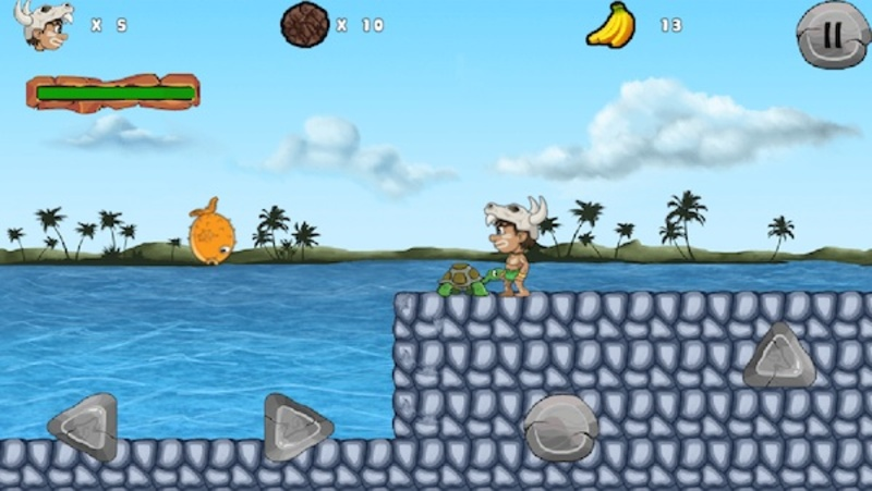 jungle adventures, iOS, android, platformer, adventure