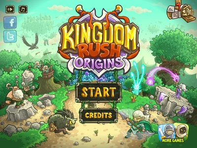 Kingdom Rush, screenshot