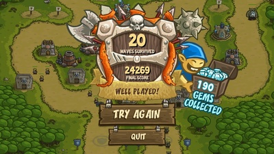 Kingdom Rush Survival Mode