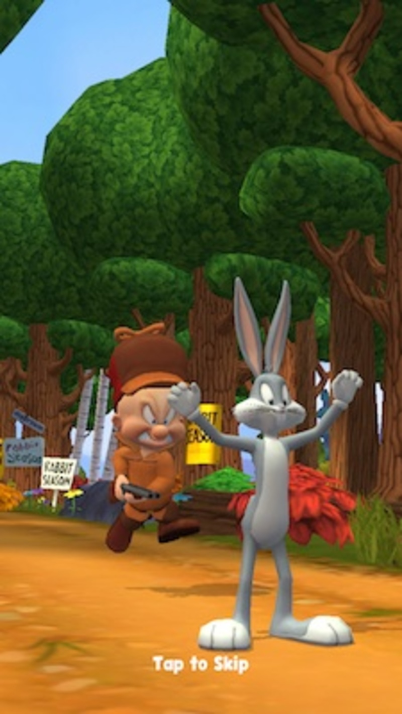 looney tunes dash, warner brothers, wb, bugs bunny, iOS, android, game  - Looney Tunes Dash