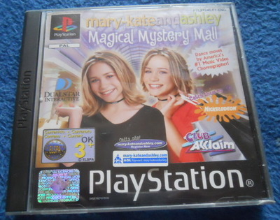 mary-kate & ashley, magical mystery mall, ps1, playstation