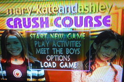 mary-kate and ashley crush course, ps1 playstation