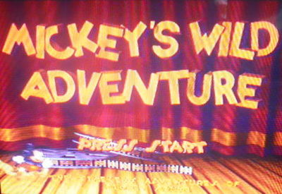 mickey's wild adventure, ps1, playstation, Disney