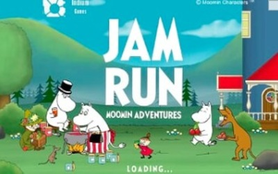 moomin adventures, jam run