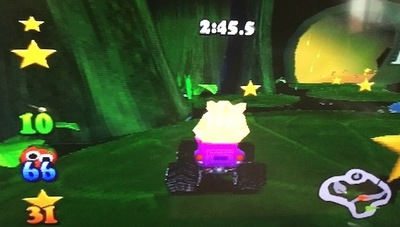 muppet racemania, ps1, playstation, muppets, animal, racing, video game