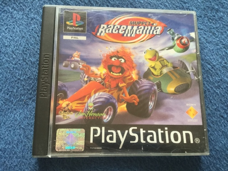 muppets, muppet racemania, ps1, playstation, racing