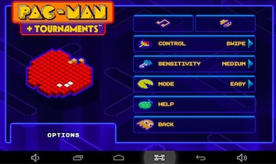 pac man android, game, tablet, app