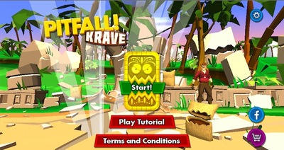 pitfall, krave, kellogs, android, game