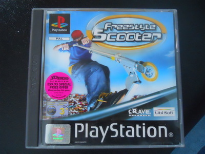 playstation, ps1, freestyle scooter