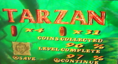 playstation, ps1, tarzan, disney, disney's tarzan
