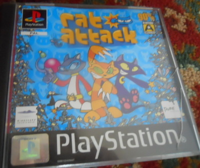 rat attack, ps1, playstation