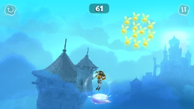 rayman adventures, android, iOS