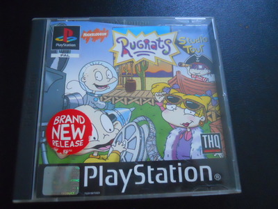 Rugrats sudio tour, rugrats, playstation, ps1