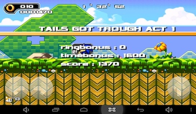 sonic the hedgehog, app, android, tablet, game