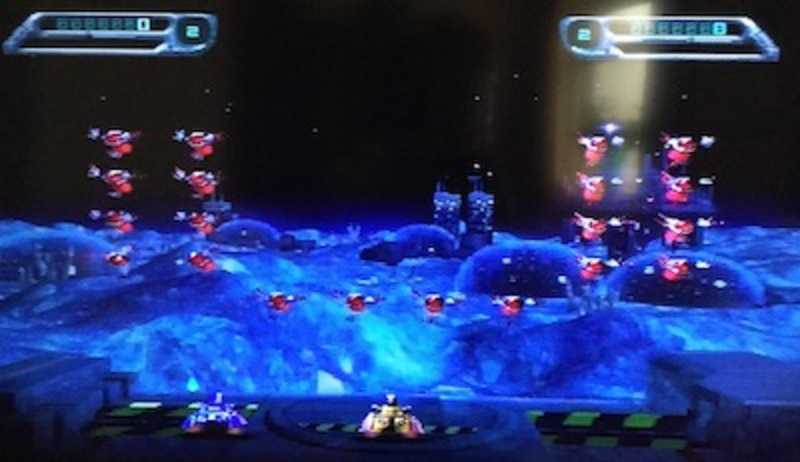 space invaders, retro, arcade, ps1, playstation  - Space Invaders