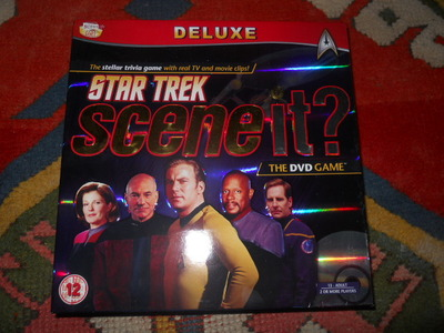 star trek, scene it, trivia, board game
