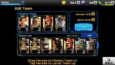 Star Wars Assault Team Characters